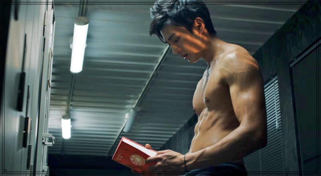 眞栄田郷敦さんの筋肉画像