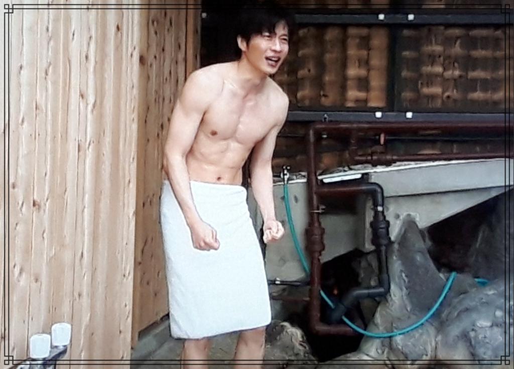 田中圭さんの筋肉画像