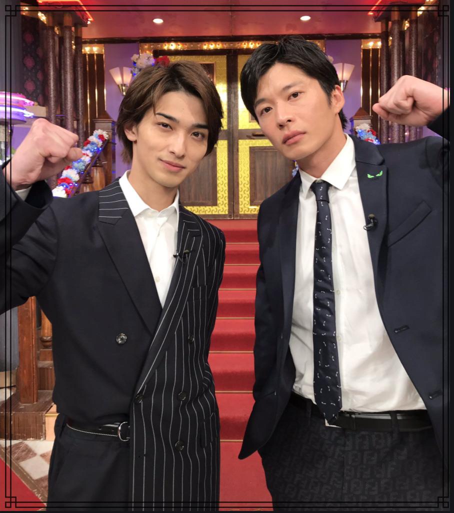 田中圭さんと横浜流星さんの画像