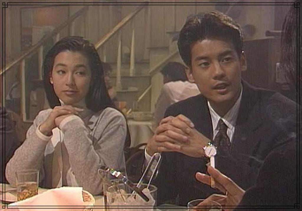 唐沢寿明さんの若い頃の画像