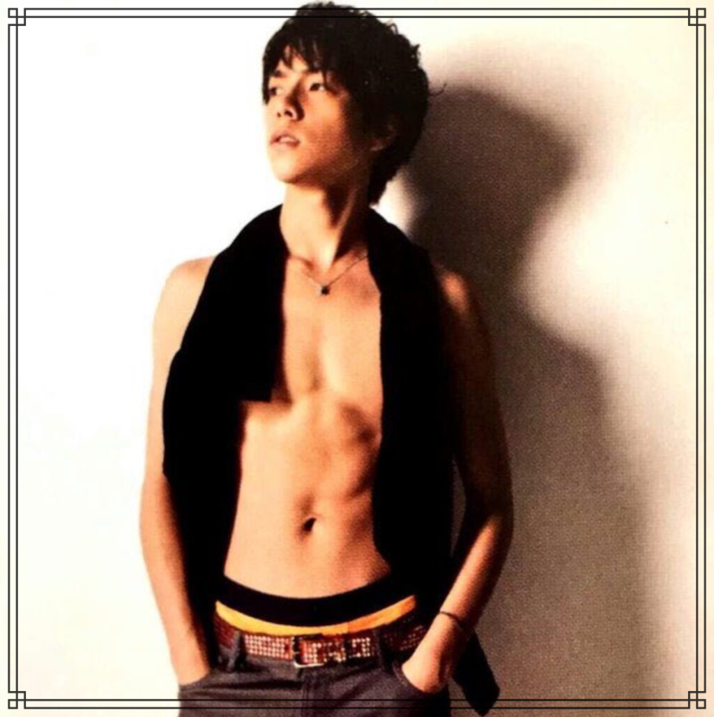 重岡大毅さんの筋肉画像