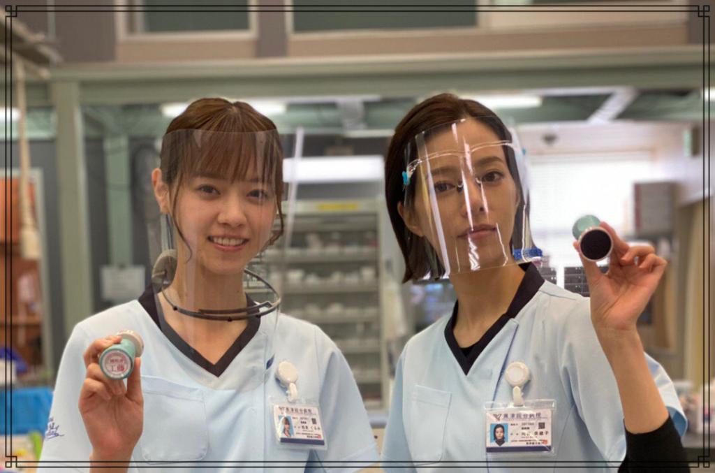 西野七瀬さんと桜井ユキさんの画像