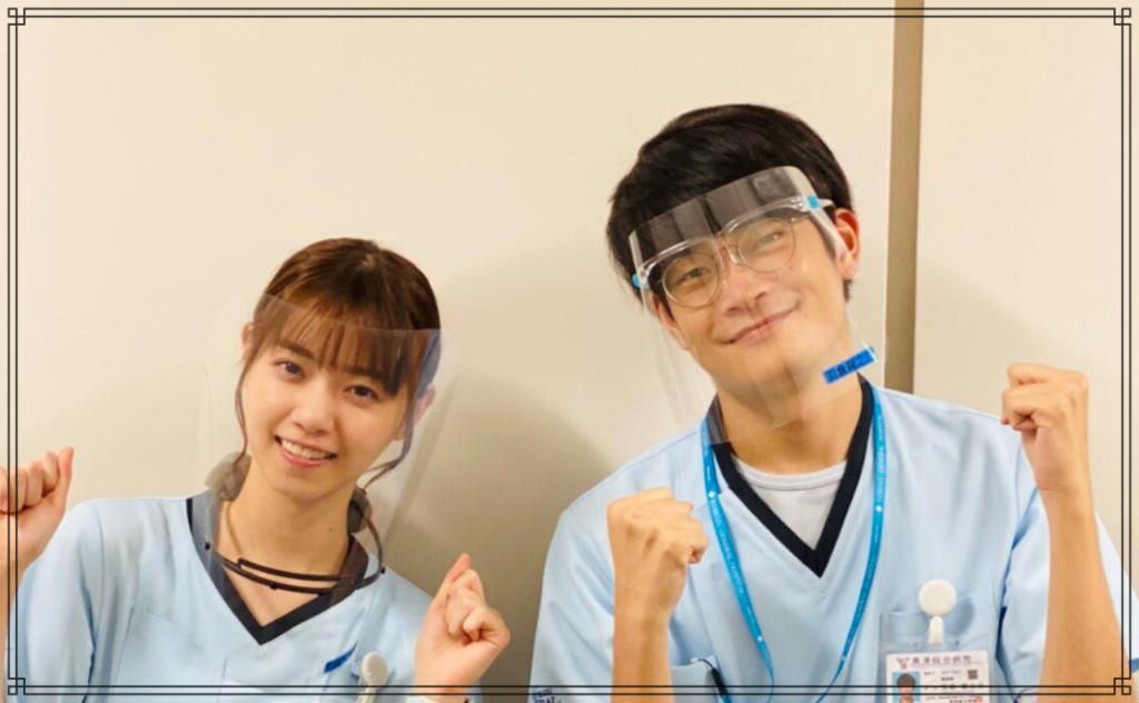 西野七瀬さんと井之脇海さんの画像