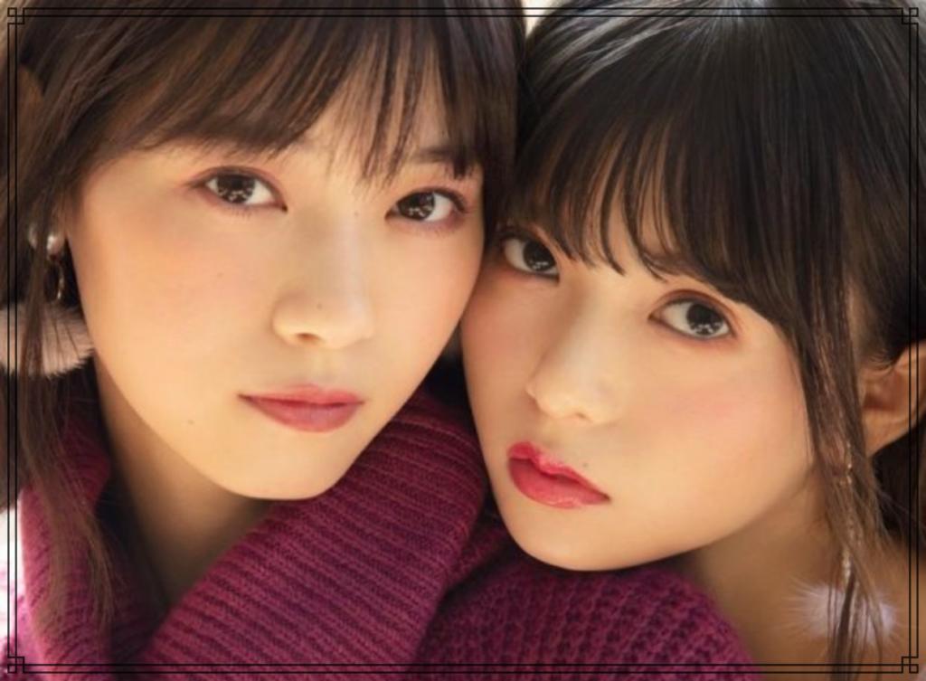 西野七瀬さんと齋藤飛鳥さんの画像