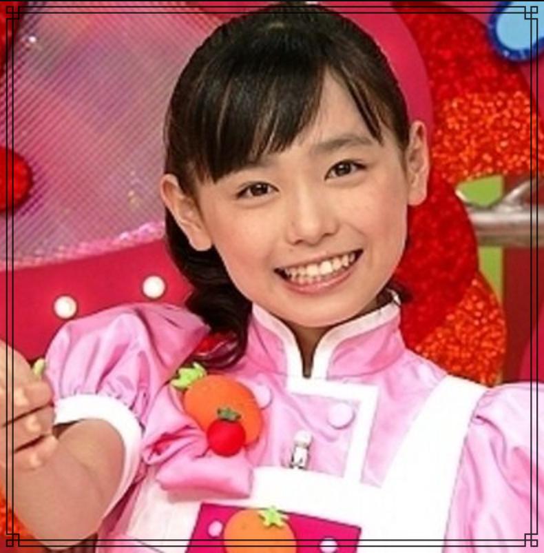 福原遥さんの子役時代の画像