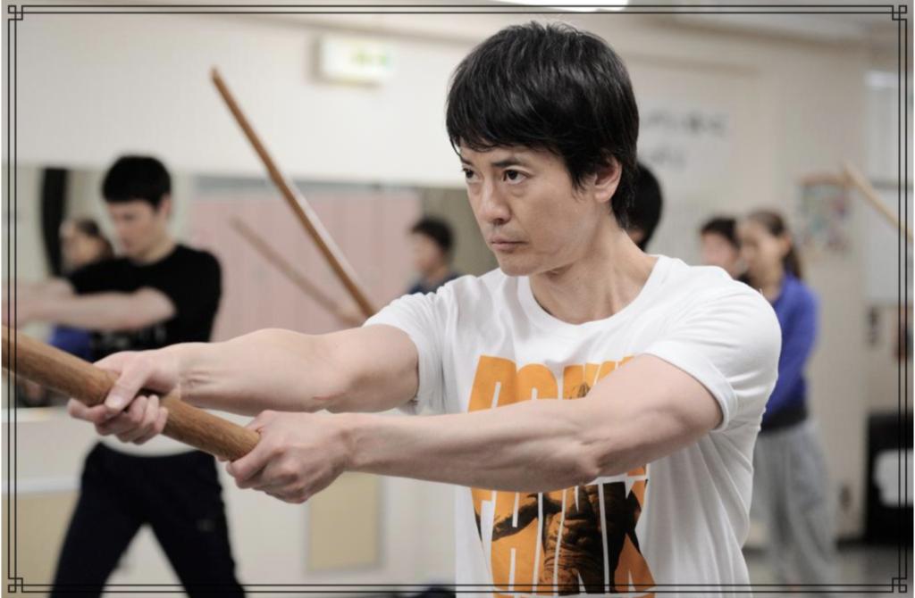 唐沢寿明さんの筋肉画像
