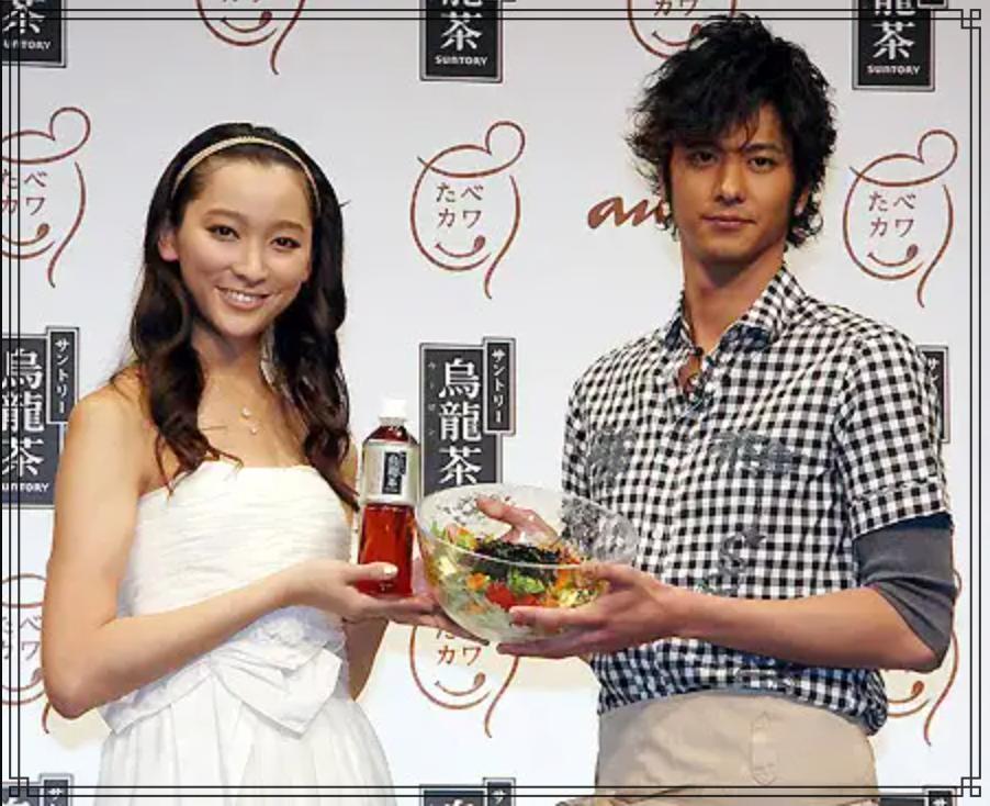 速水もこみちさんと杏さんの画像