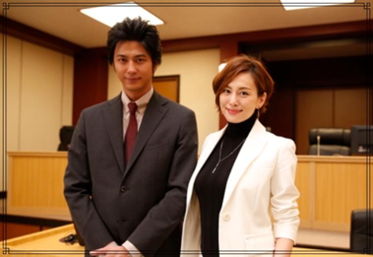 速水もこみちさんと米倉涼子さんの画像