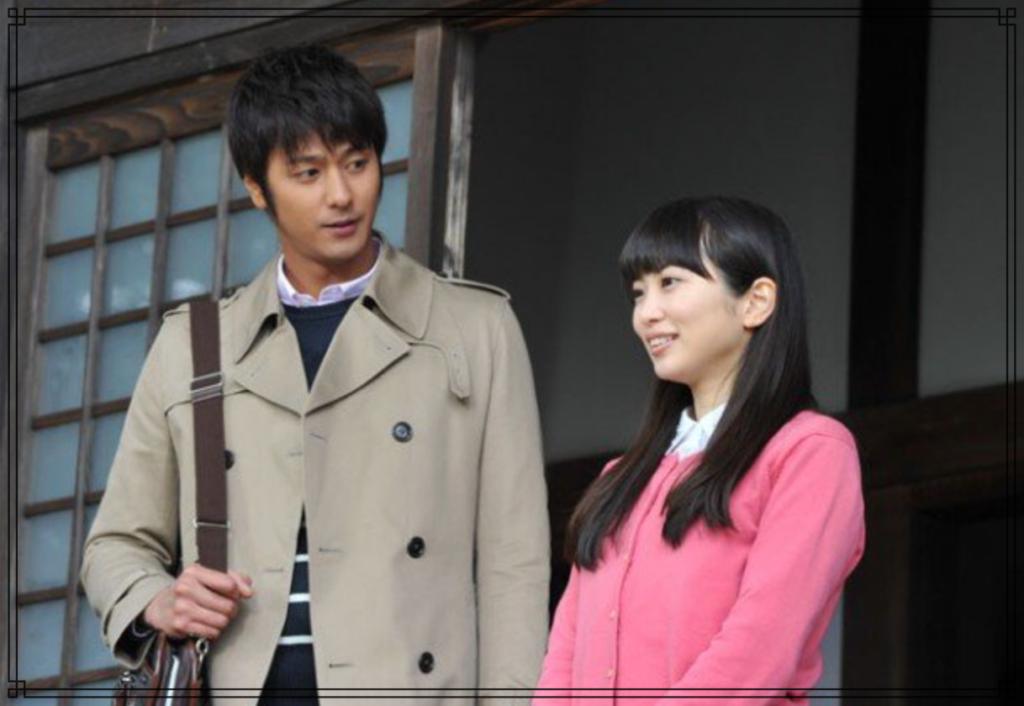速水もこみちさんと志田未来さんの画像