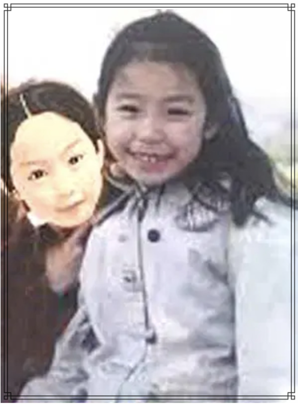 宇垣美里さんの幼少期の画像