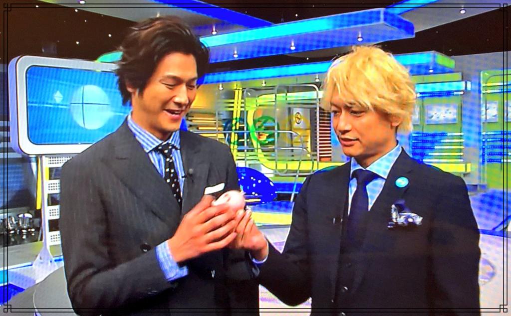 速水もこみちさんと香取慎吾さんの画像