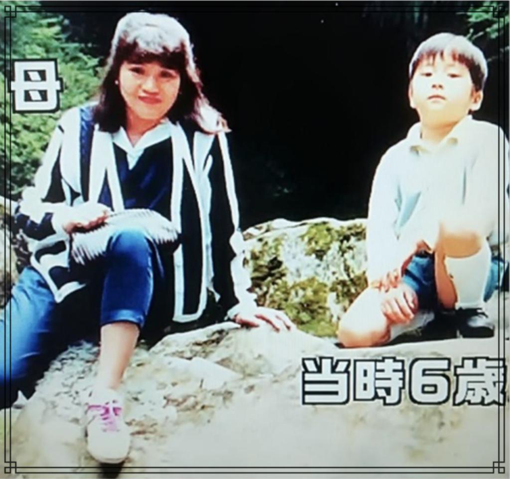 田中圭さんと母親の画像