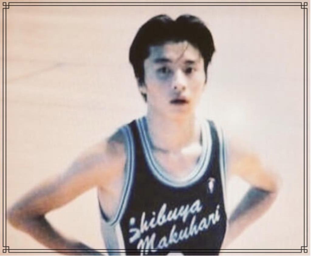 田中圭さんの学生時代の画像