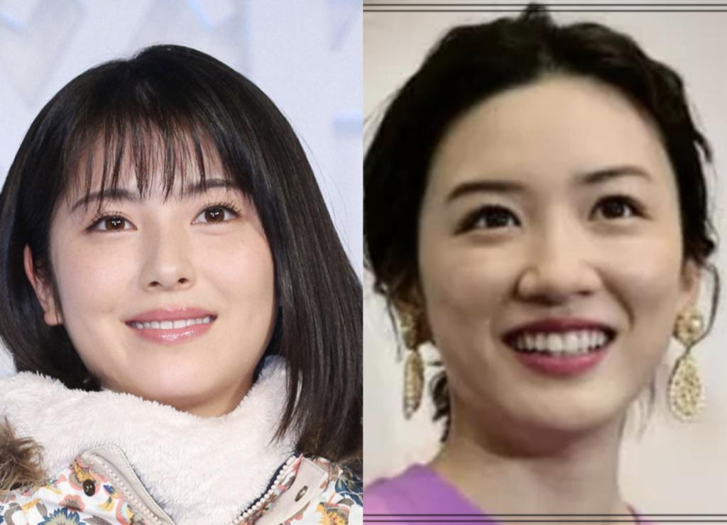 永野芽郁さんと浜辺美波さんの画像