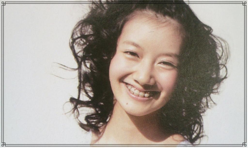 波瑠さんの幼少期の画像