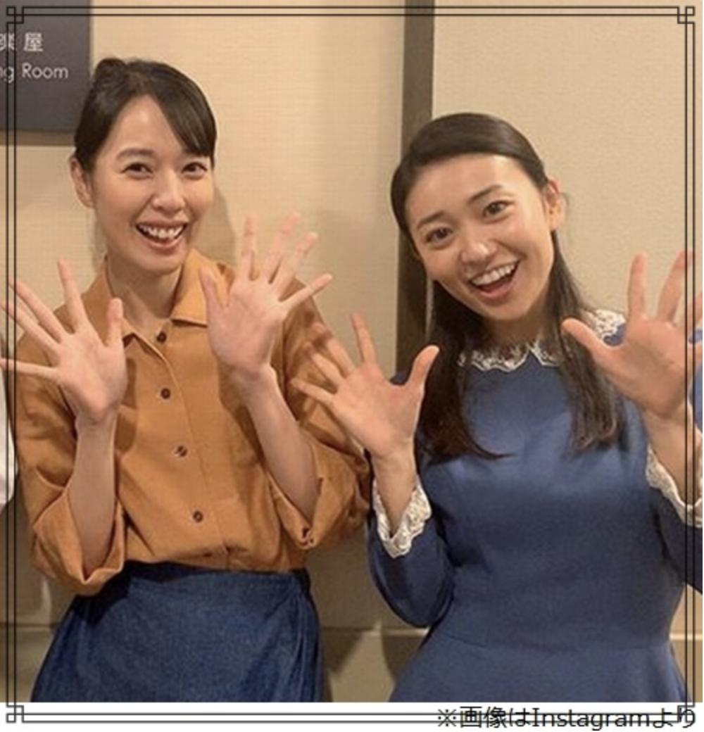 戸田恵梨香さんと大島優子さんの画像