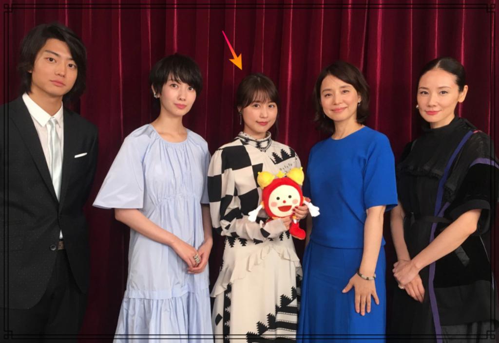 有村架純さんと他の芸能人の画像