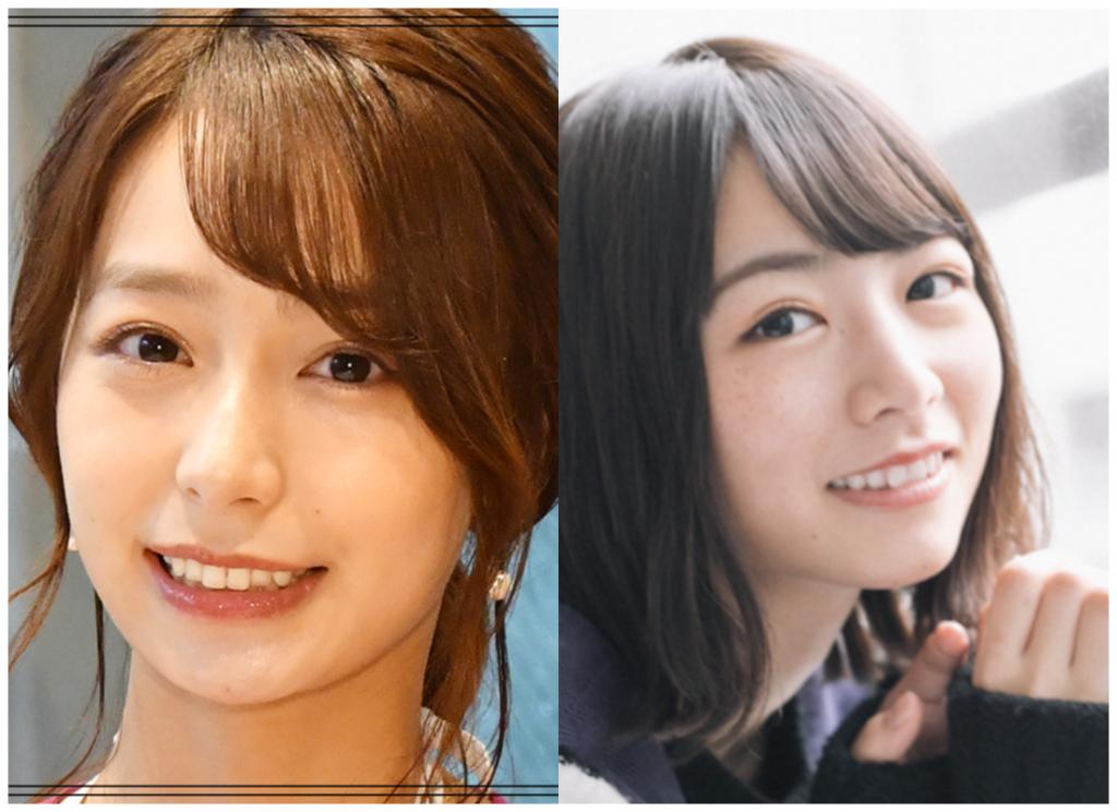 宇垣美里さんと北野日奈子さんの画像