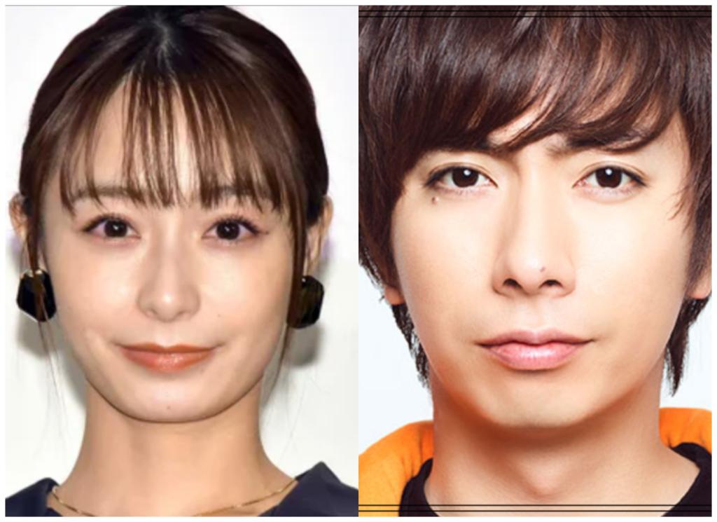 宇垣美里さんと河合郁人さんの画像