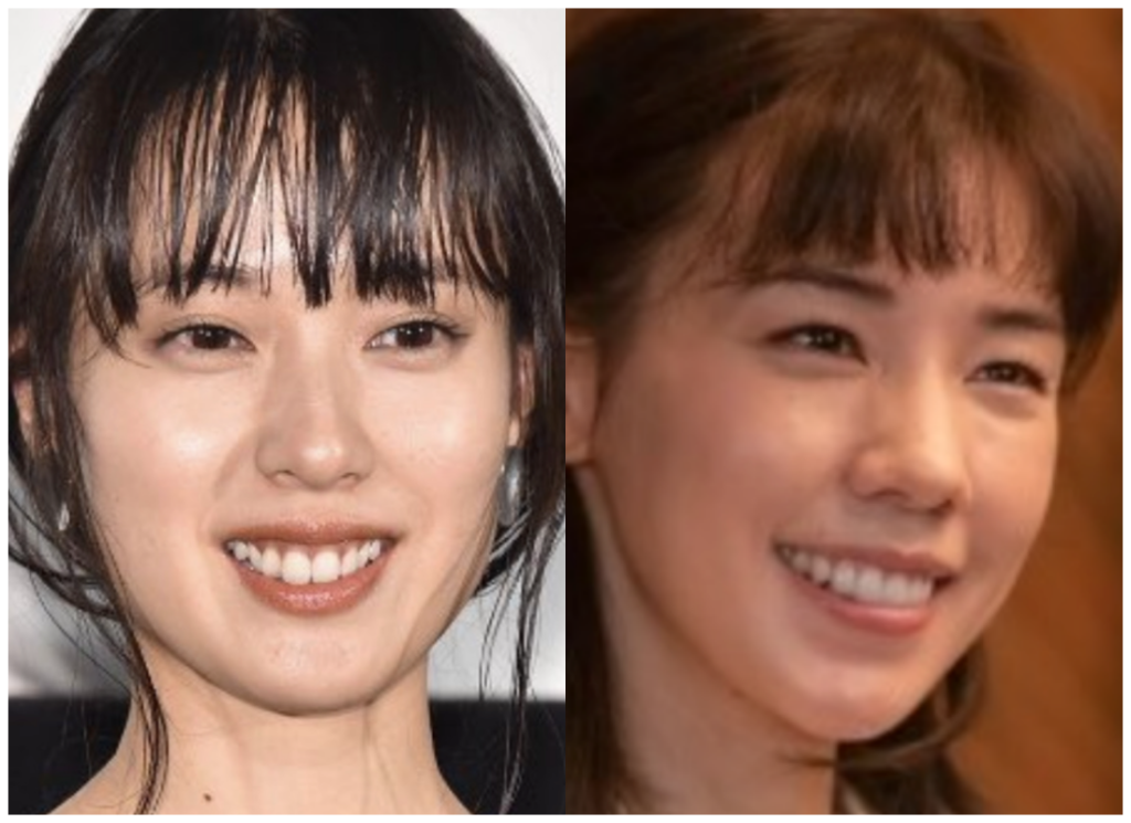戸田恵梨香さんと仲里依紗さんの画像