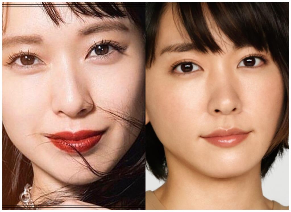 戸田恵梨香さんと新垣結衣さんの画像