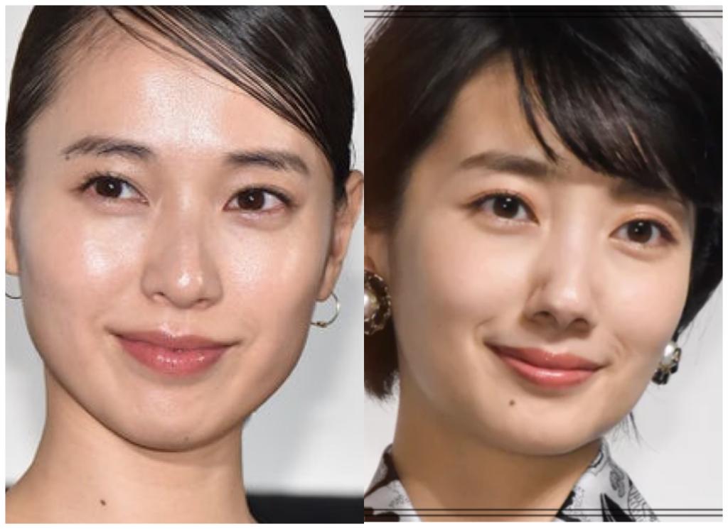 戸田恵梨香さんと波瑠さんの画像