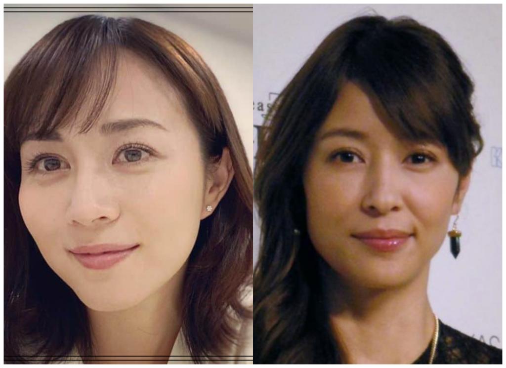 比嘉愛未さんと水野美紀さんの画像