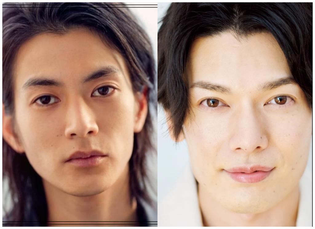 渡邊圭祐さんと崎山つばささんの画像
