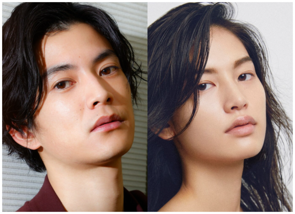 渡邊圭祐さんと立花恵理さんの画像