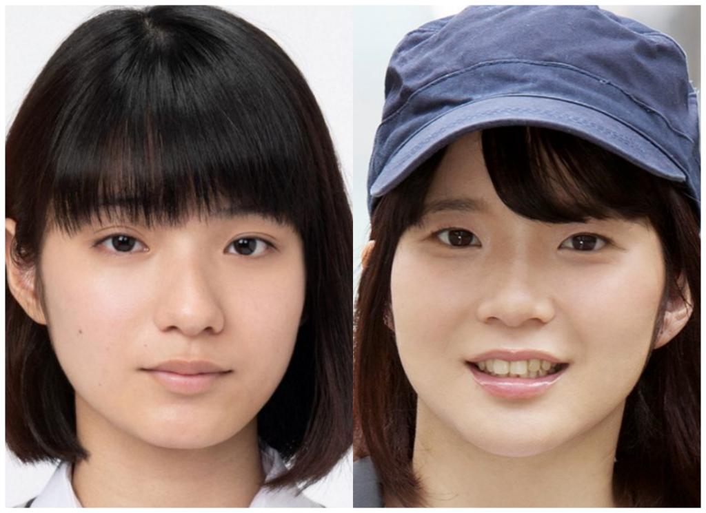蒔田彩珠(まきたあじゅ)さんと佐藤りこさんの画像