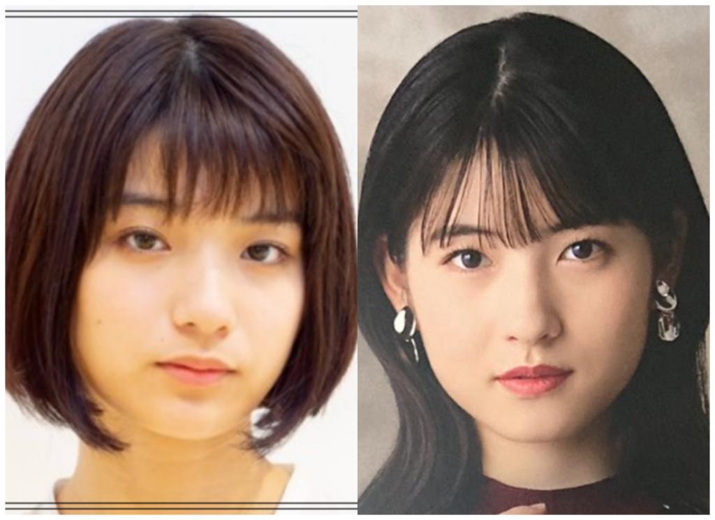蒔田彩珠(まきたあじゅ)さんと北川莉央さんの画像
