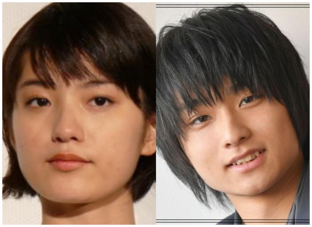 蒔田彩珠(まきたあじゅ)さんと奥平大兼さんの画像