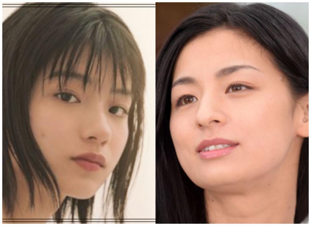 蒔田彩珠(まきたあじゅ)さんと尾野真千子さんの画像