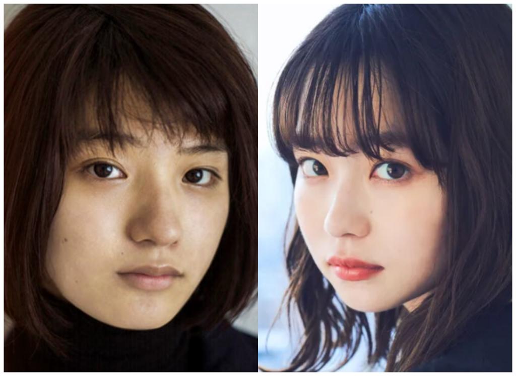 蒔田彩珠(まきたあじゅ)さんと山田杏奈さんの画像