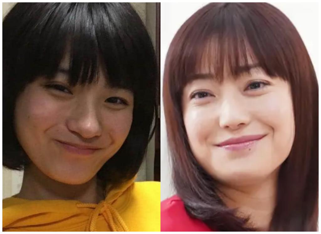 蒔田彩珠(まきたあじゅ)さんと菅野美穂さんの画像