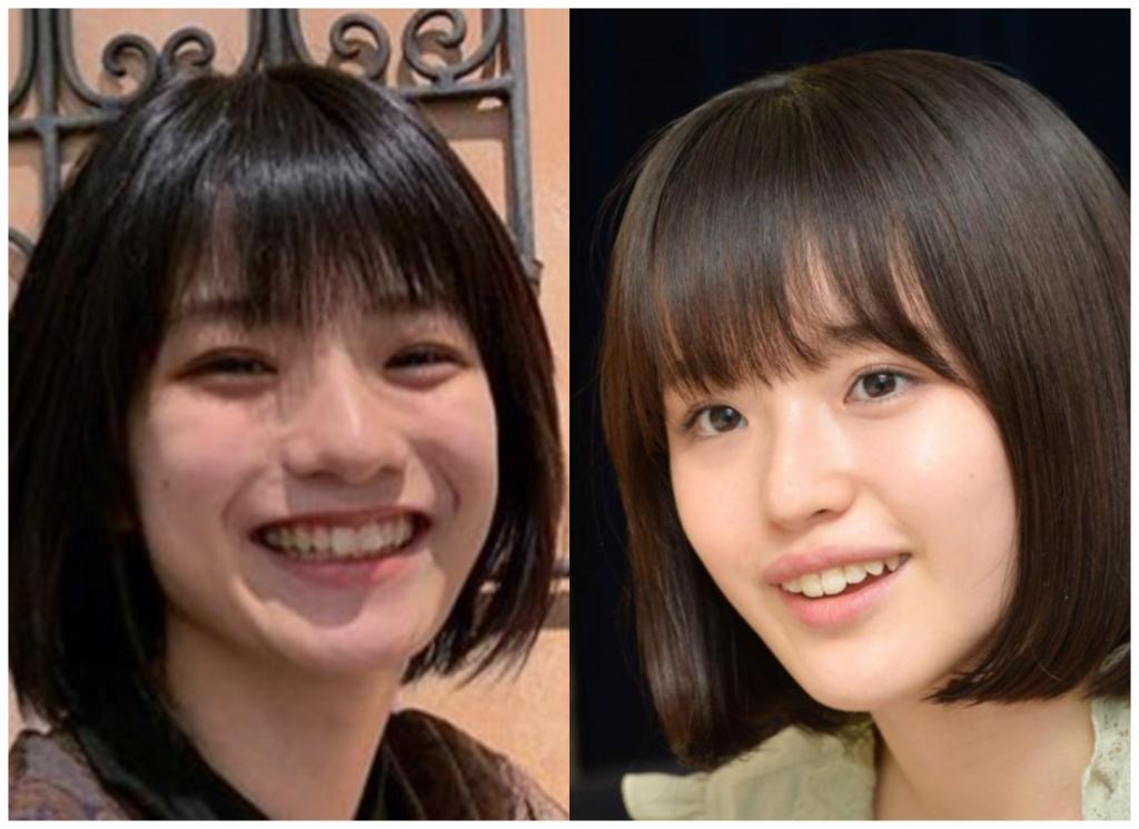 蒔田彩珠(まきたあじゅ)さんと豊嶋花さんの画像