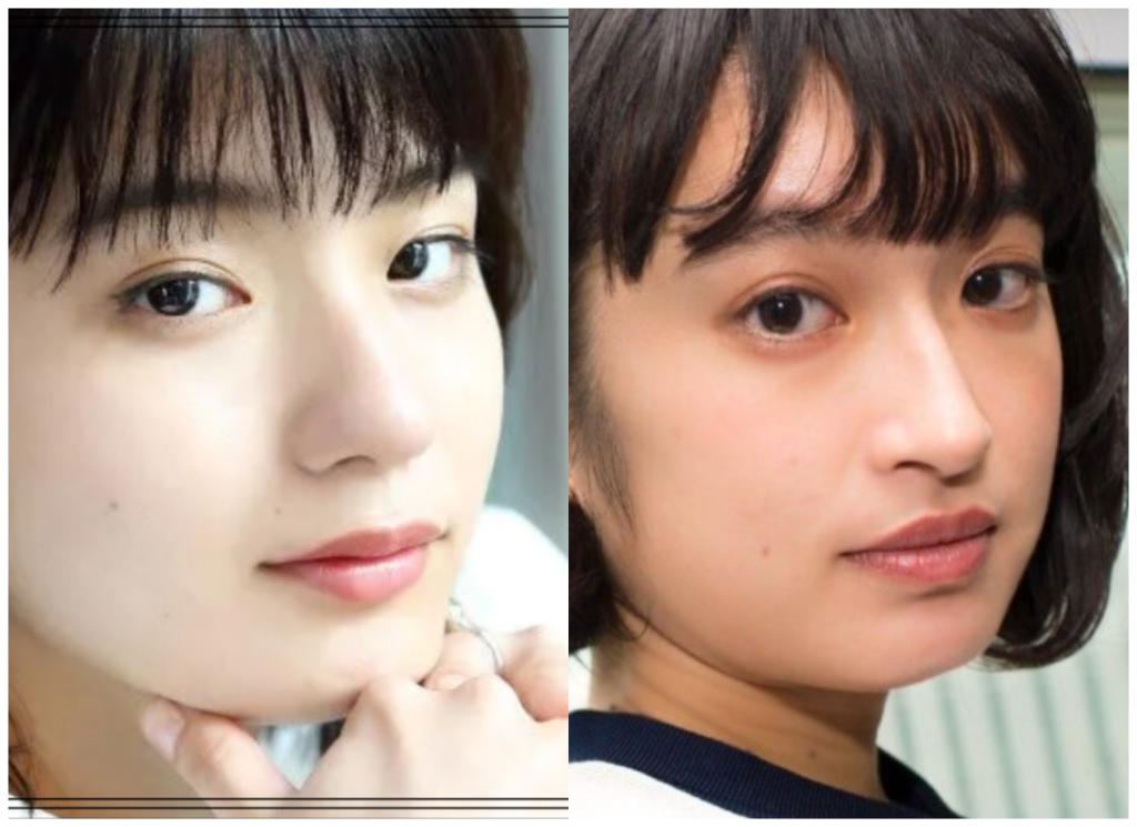 蒔田彩珠(まきたあじゅ)さんと門脇麦さんの画像