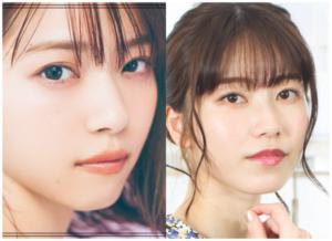西野七瀬さんと横山由依さんの画像