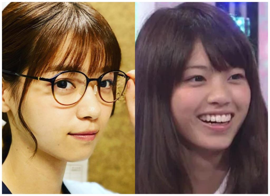 西野七瀬さんの鼻の画像