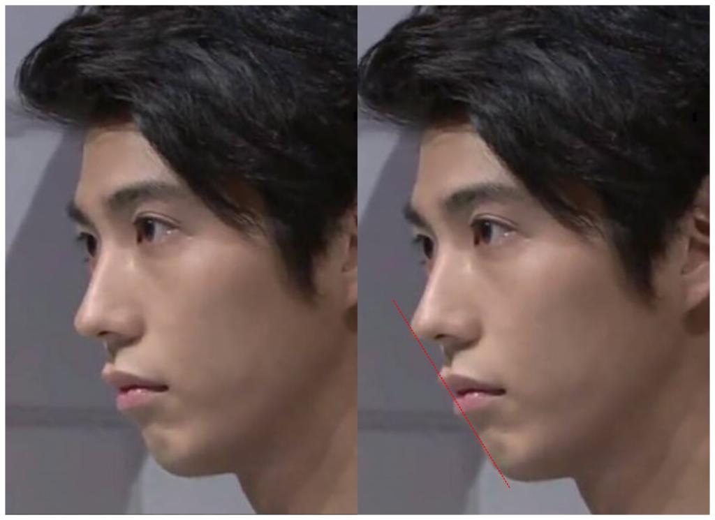 賀来賢人さんの横顔画像