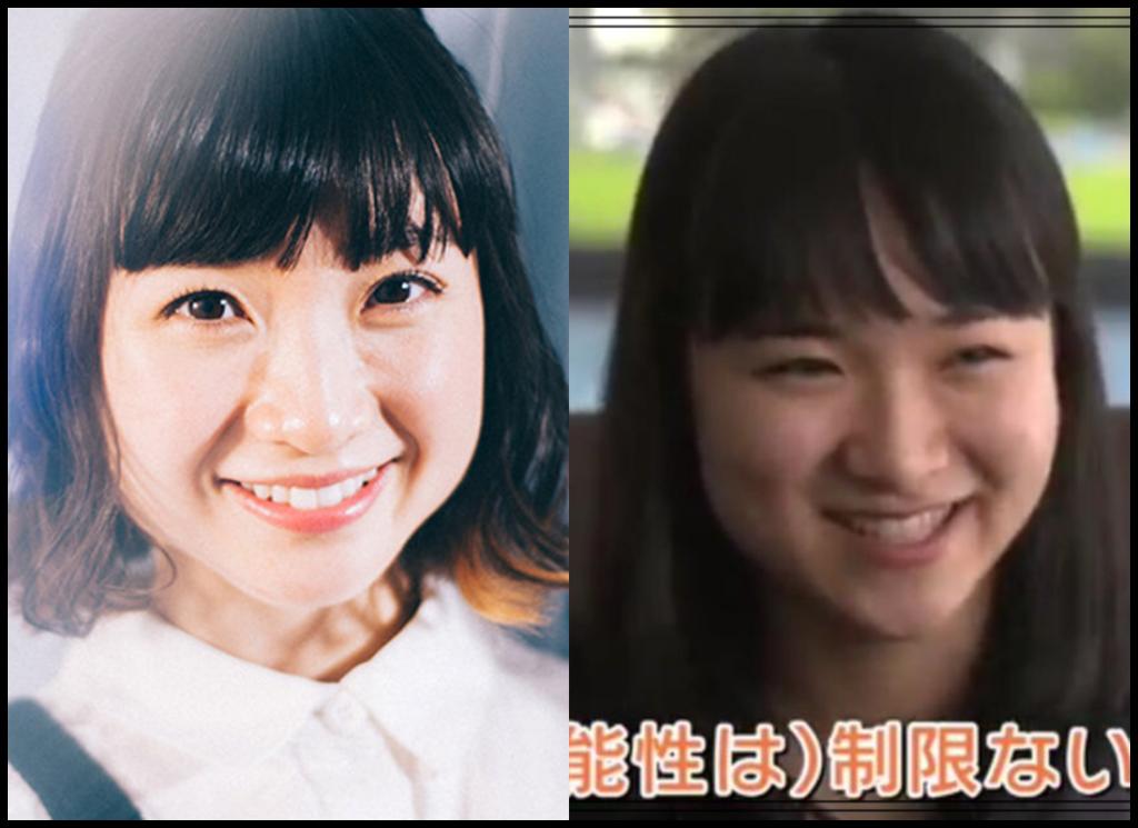 伊藤美誠選手と有安杏里さんの画像