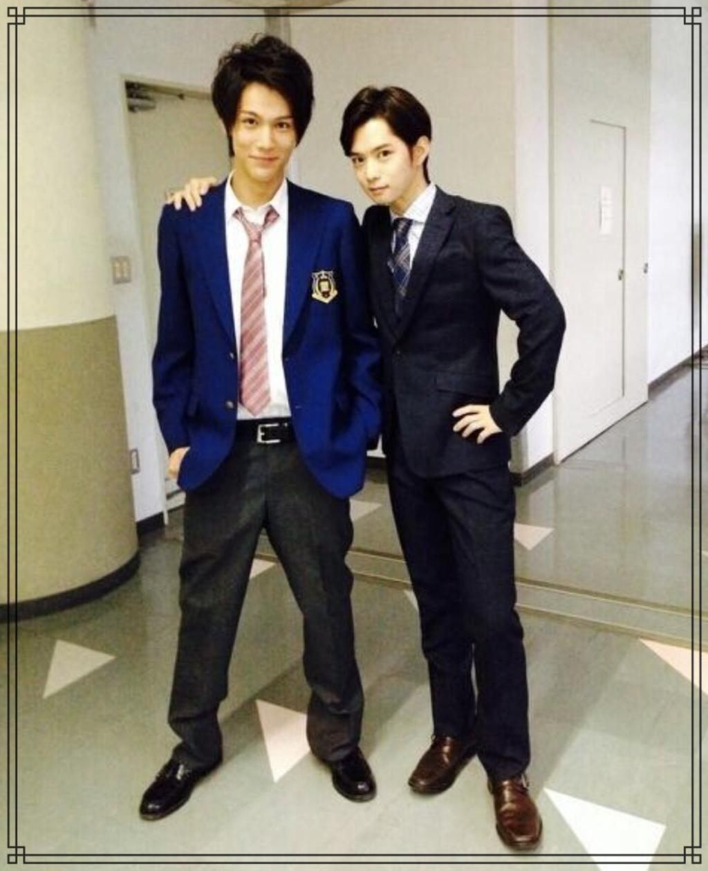 中川大志さんと千葉雄大さんの画像