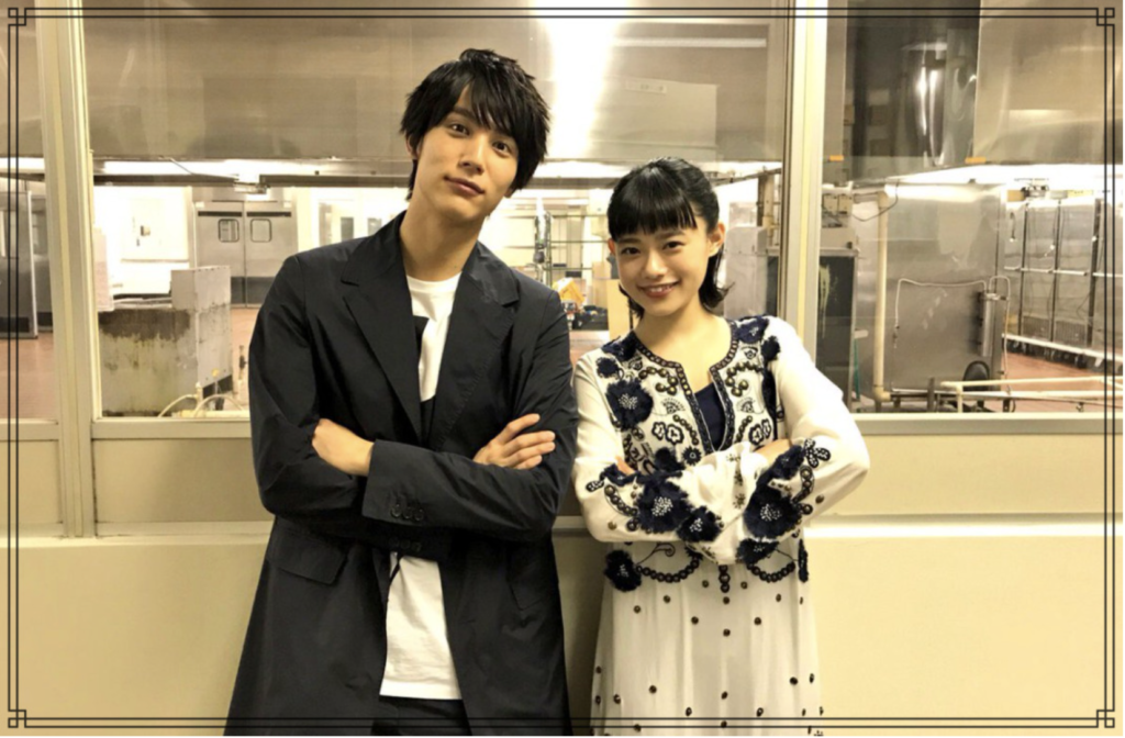 中川大志さんと杉咲花さんの画像