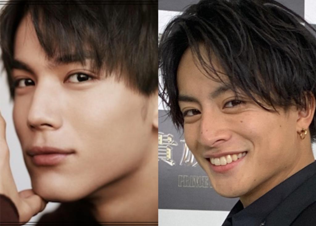 中川大志さんと白濱亜嵐さんの画像