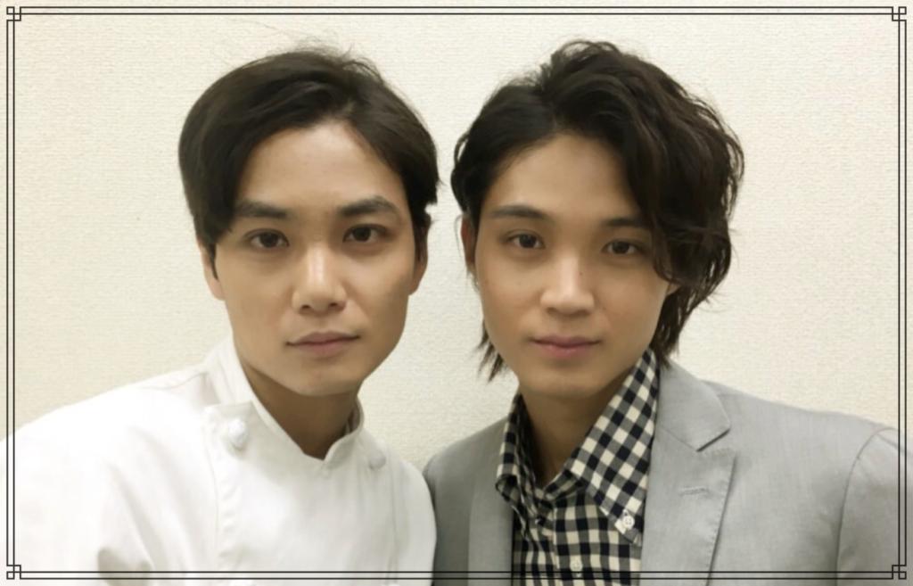 磯村勇斗さんと矢野聖人(やのまさと)さんの画像