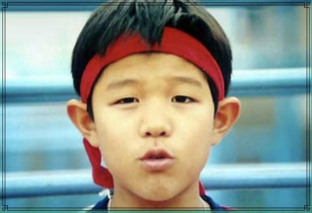 鈴木亮平さんの幼少期の画像