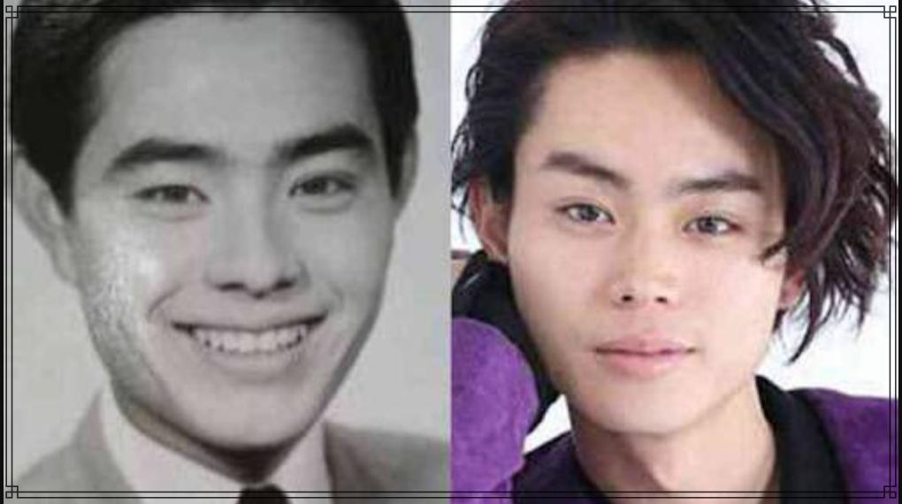 菅田将暉さんと加藤茶さんの若い頃の画像