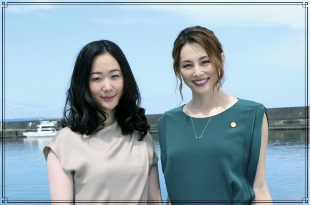 黒木華さんと米倉涼子さんの画像