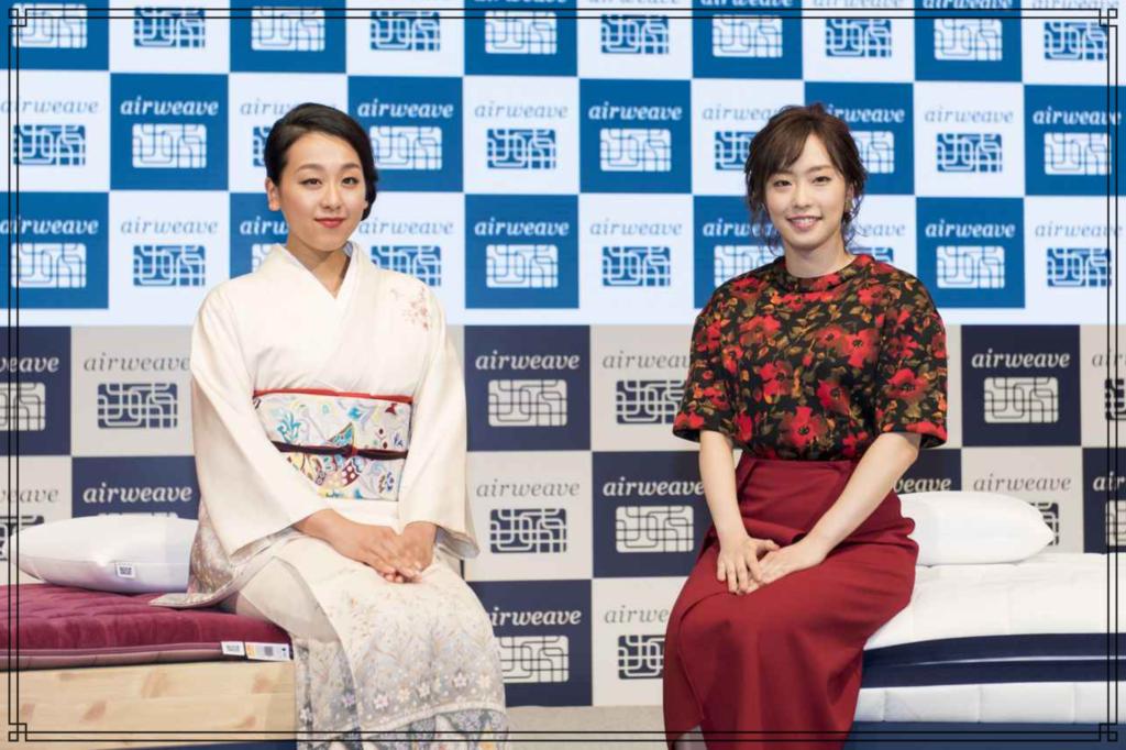石川佳純さんと浅田真央さんの画像