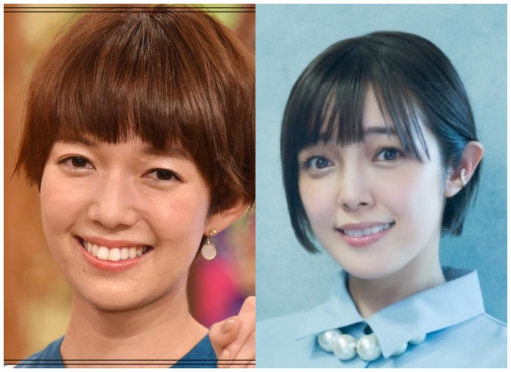 佐藤栞里さんと佐藤聡美さんの画像